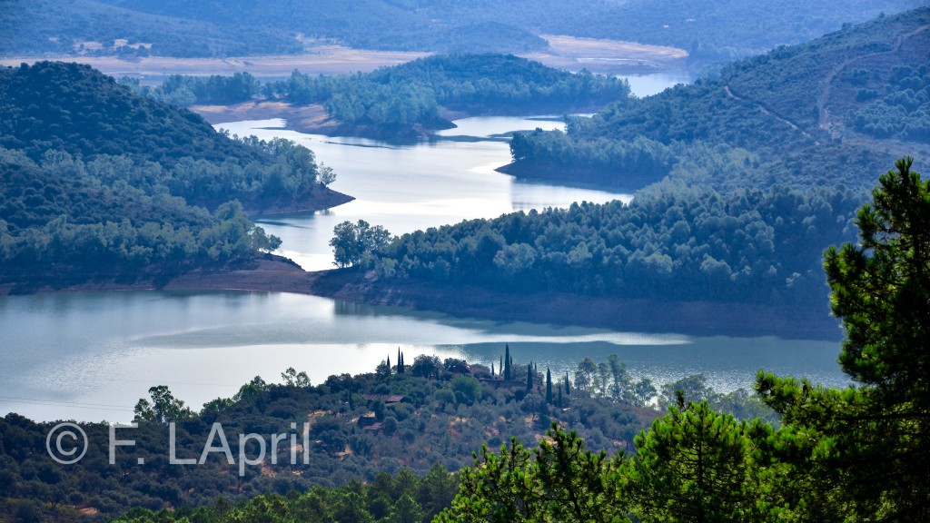 El embalse de García de Sola - Garcia de Sola`s lake