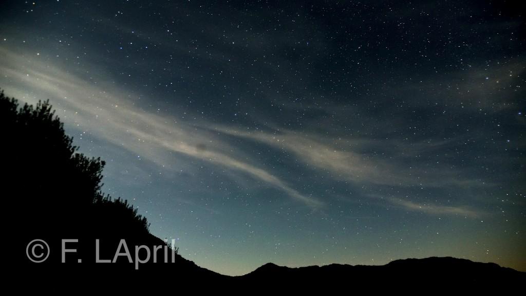 Nubes y estrellas - Stars & clouds